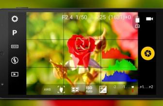 App per regolare velocità scatto, apertura e ISO su Android